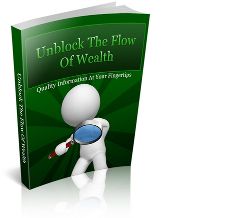 Product picture Unblock the Flow of Wealth